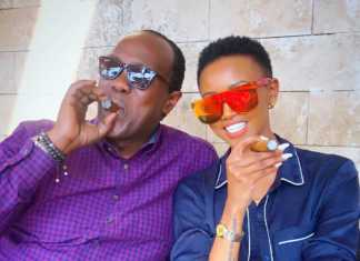 Jeff Koinange and Huddah Monroe