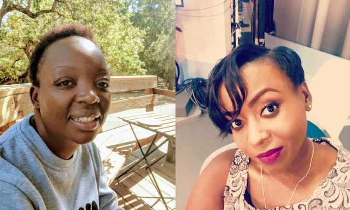 Jerida Andayi and Jacque Maribe