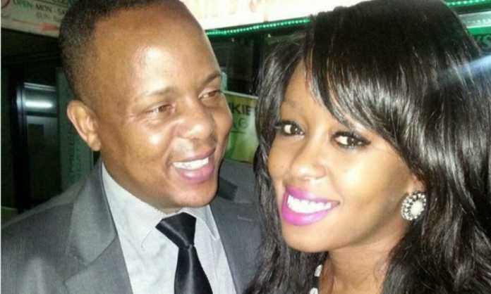 Lillian Muli with Jared