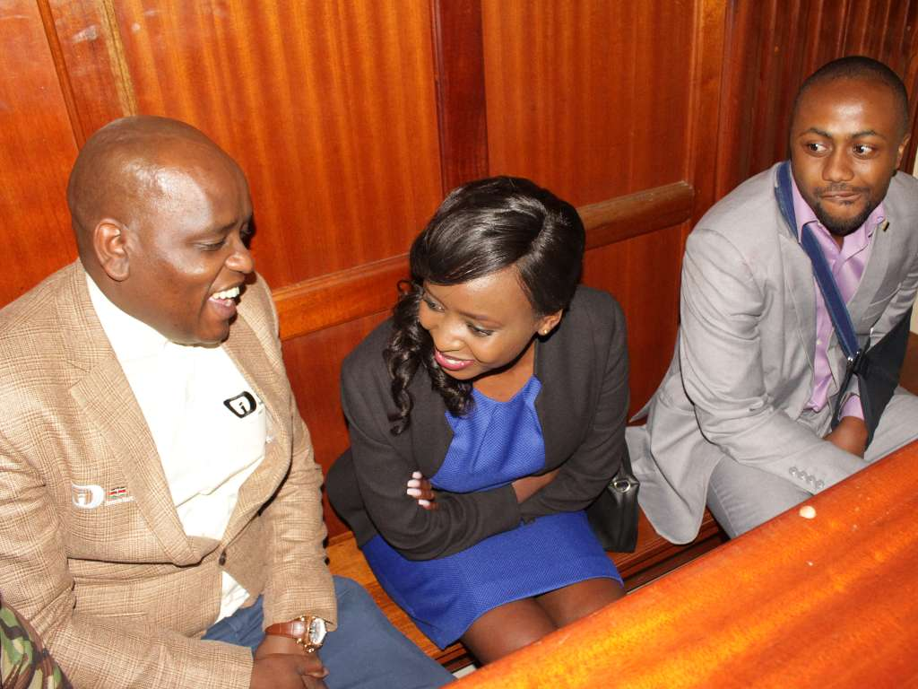 Maribe Jacque and Jowie in court - From crying, slaying to ignoring each other: All the photos you did not see from Jacque Maribe and Jowie's court hearings