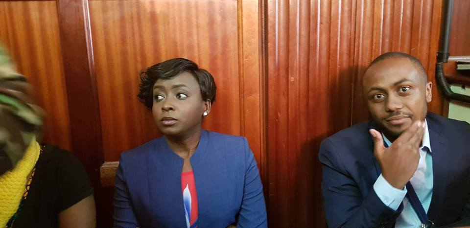 Maribe and Jowie Irungu - From crying, slaying to ignoring each other: All the photos you did not see from Jacque Maribe and Jowie's court hearings