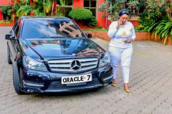 "Oracle 1 350x233 - Rolling like a queen! Check out photos of Rev Lucy Natasha's expensive ""Oracle 7"" Mercedes Benz"