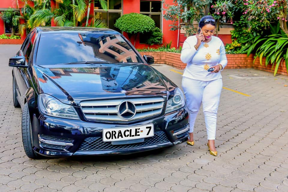 "Oracle 1 - Rolling like a queen! Check out photos of Rev Lucy Natasha's expensive ""Oracle 7"" Mercedes Benz"