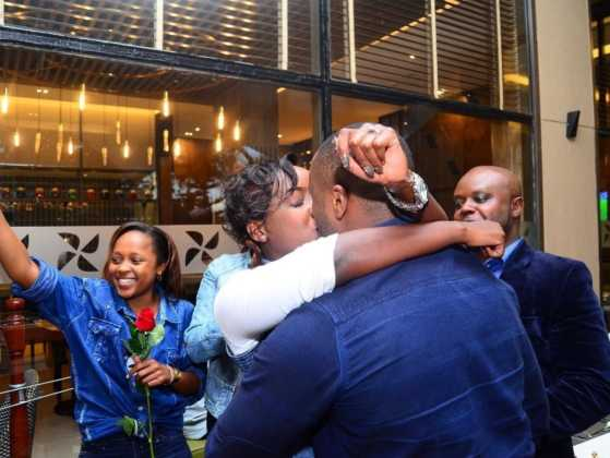 Jowie proposing to Jacque Maribe
