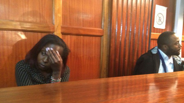 Jacque Maribe and Jowie in court