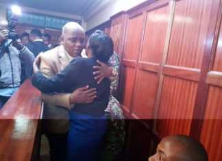 Itumbi greeting Maribe