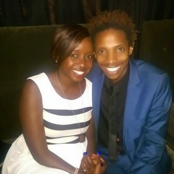 Eric Omondi and Jacque Maribe