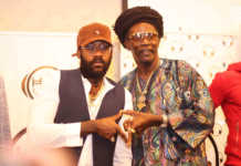 Tarrus Riley and Everton Blender/Photo courtesy Douglas Okiddy