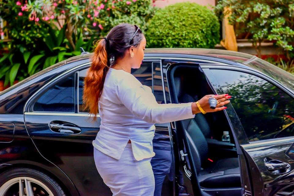 "ucy Nataha car - Rolling like a queen! Check out photos of Rev Lucy Natasha's expensive ""Oracle 7"" Mercedes Benz"