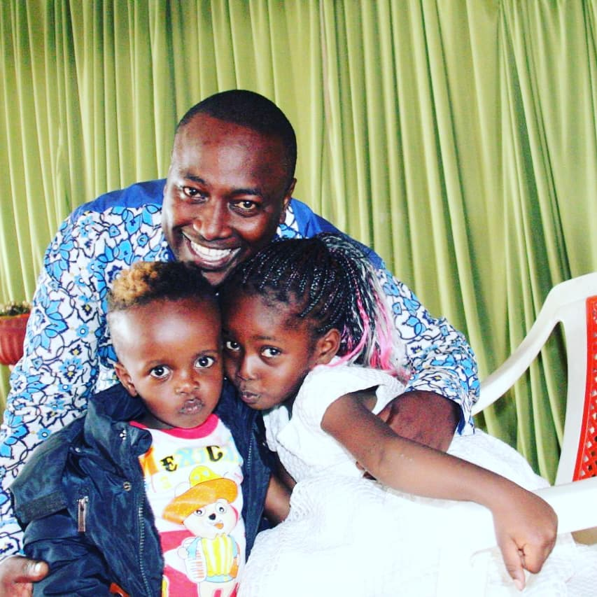 Kanyari and his kids