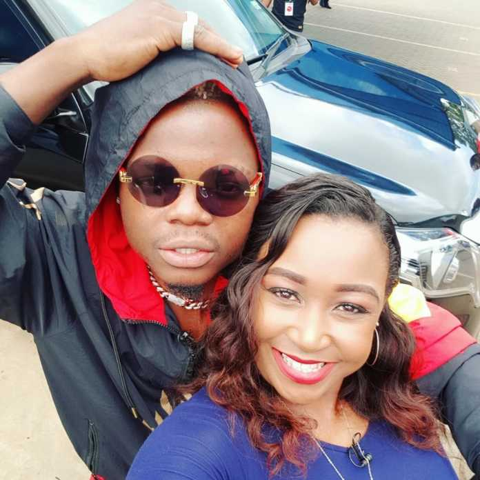 Betty Kyallo and Harmonize