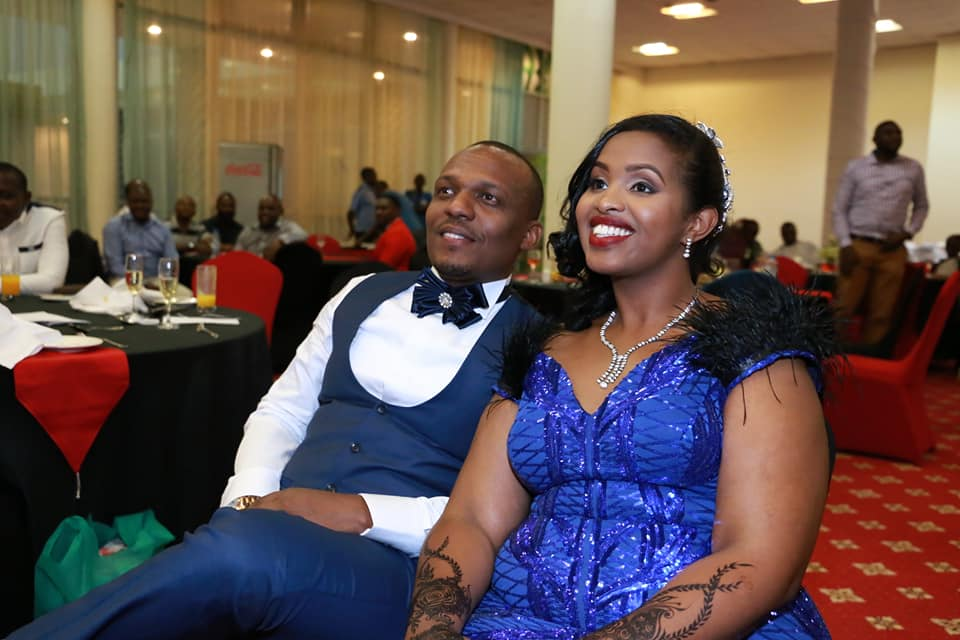 Ben Kitili with wife