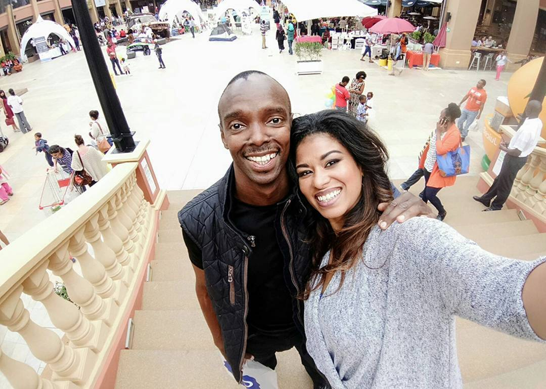 Anthony Gichuru and Julie Gichuru