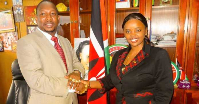 Image result for mike sonko and lucy Natasha