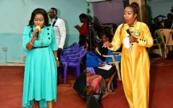 Monicah Prophetess 350x219 - Mrembo wa Yesu! Check out photos of Prophetess Monicah's unique dress code