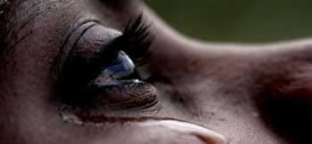 black woman crying  350x162 - Kinangop girl dumped baby in latrine 'out of fear'of her mother