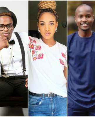 Diamond, Tanasha and Nick Mutuma