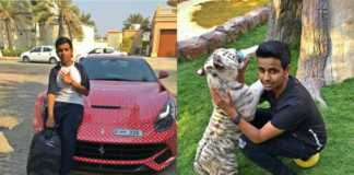 Rashed Seif Dubai rich kid
