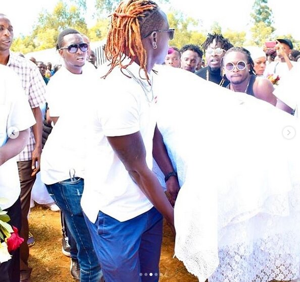 Willy Paul's dancer's burial