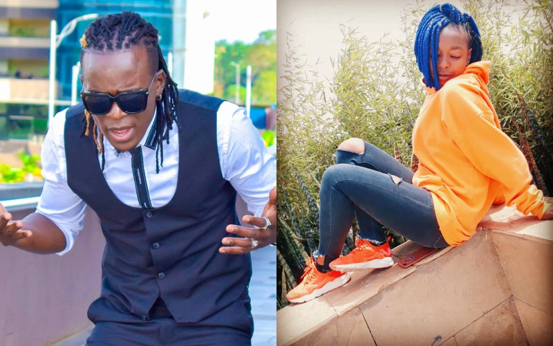 Luwere! Here are photos of Willy Paul's beautiful late dancer