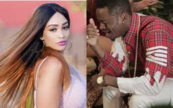 Zari hilarious response 350x219 - 'I've never slept with Peter of Psquare and my personal trainer,' Zari tells Diamond