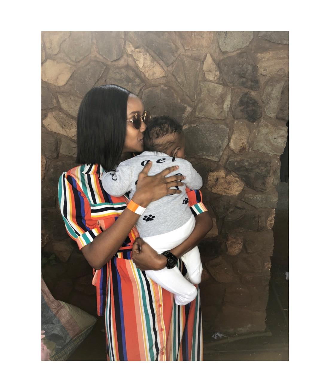 janet mbugua 1 - Take lessons! What Kenyan celebrity mothers should learn from Meghan