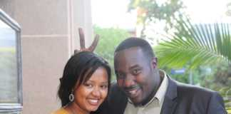 Willis Raburu and Mary