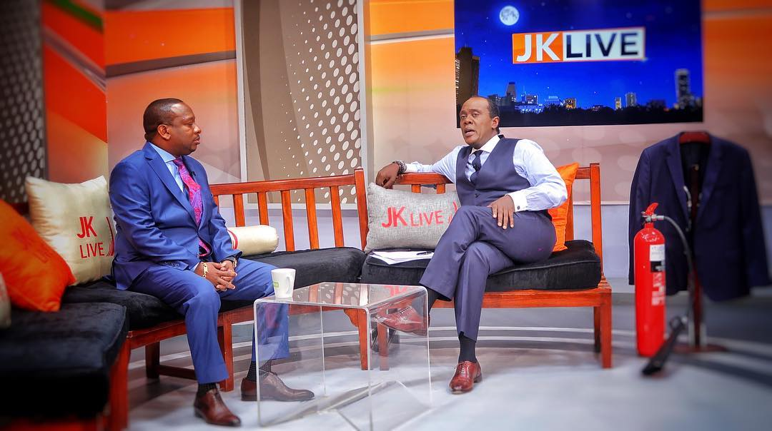 Mike Sonko on JKL
