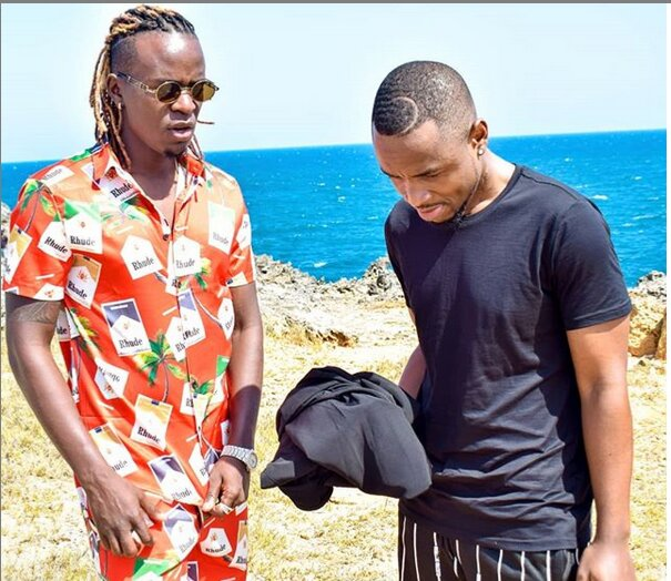 Willy Paul and Ommy Dimpoz