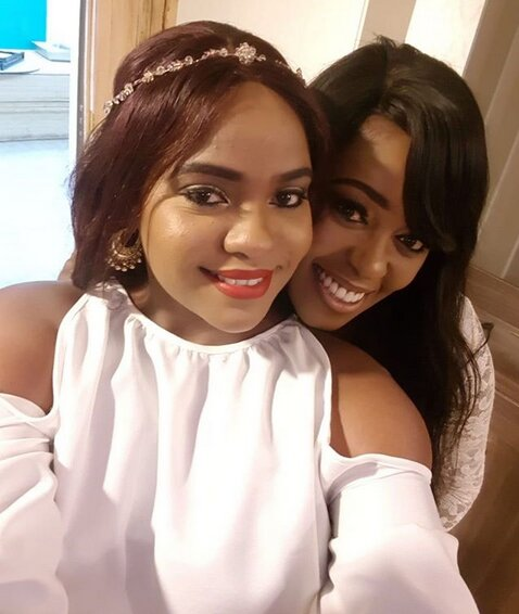 Lillian Muli and Ann Kiguta