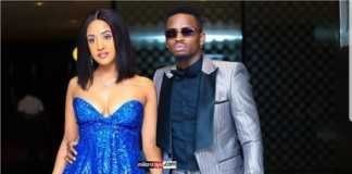 Tanasha Donna and Diamond Platnumz