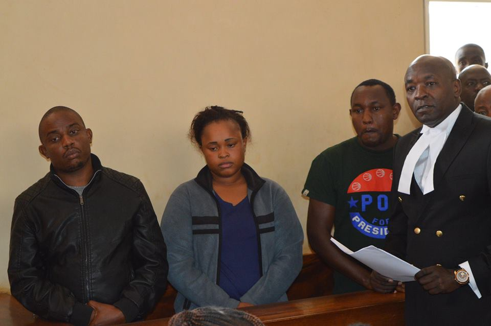 Suspects in Mary Wambui's murder appear before court