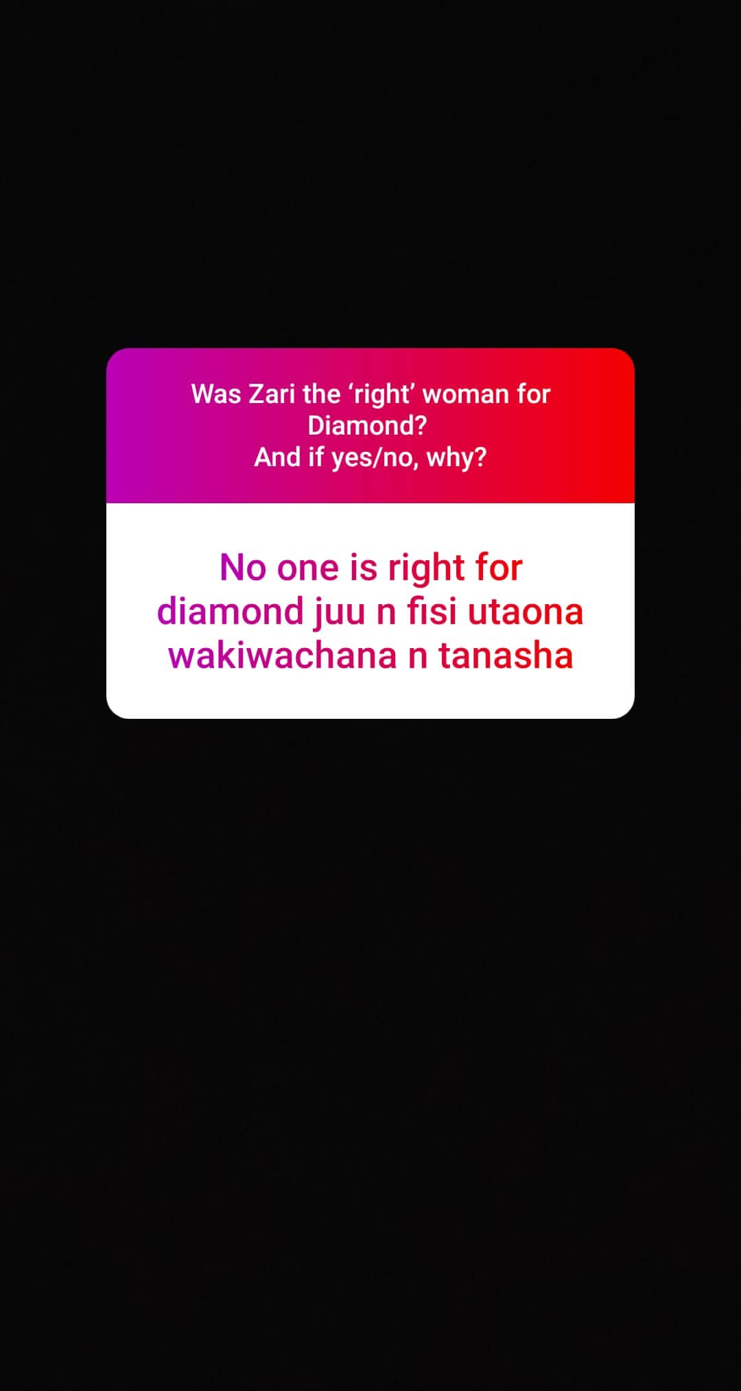 52665258 2302593456680494 7792304940028275438 n - Zari is the only woman Diamond Platnumz could have settled down with – poll