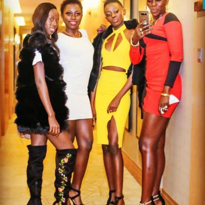 Akothee with her daughters 696x696 - Don't end up like me with several baby daddies, Akothee advises her daughters