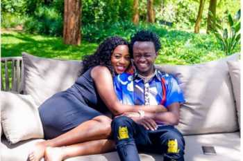 Bahati and Diana 350x233 - 'I was a party girl until I met Bahati,' Diana Marua talks about her sinful days