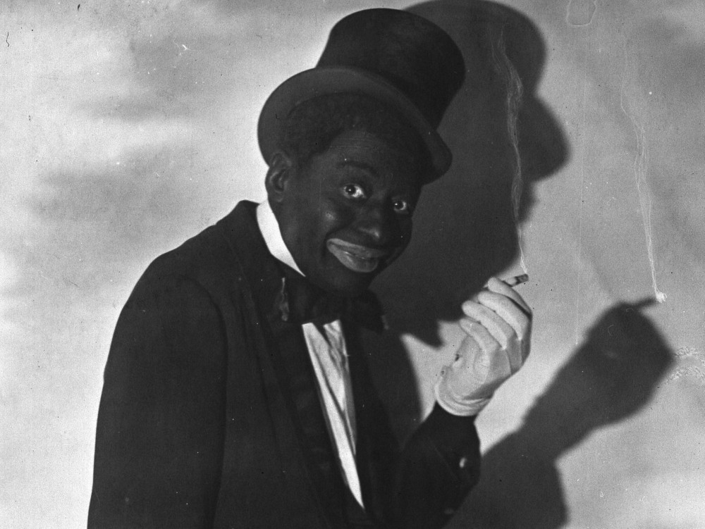 An example of blackface:Courtesy/Commons Wikimedia