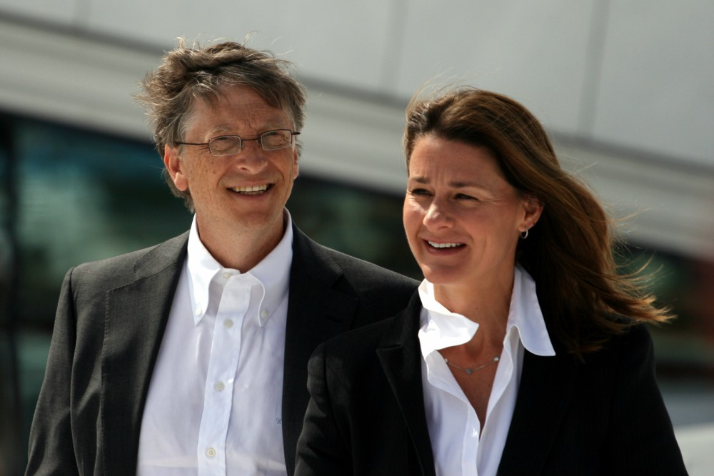 Bill og Melinda Gates 2009 06 03 bilde 01 - 'You'll call a press conference if you buy someone a boxer', politician bashed