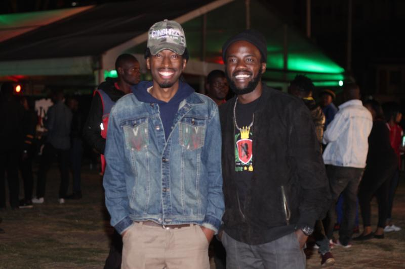 Conshizy with ZJ Heno - Nobody can stop Reggae! How it went down at Richie Spice concert