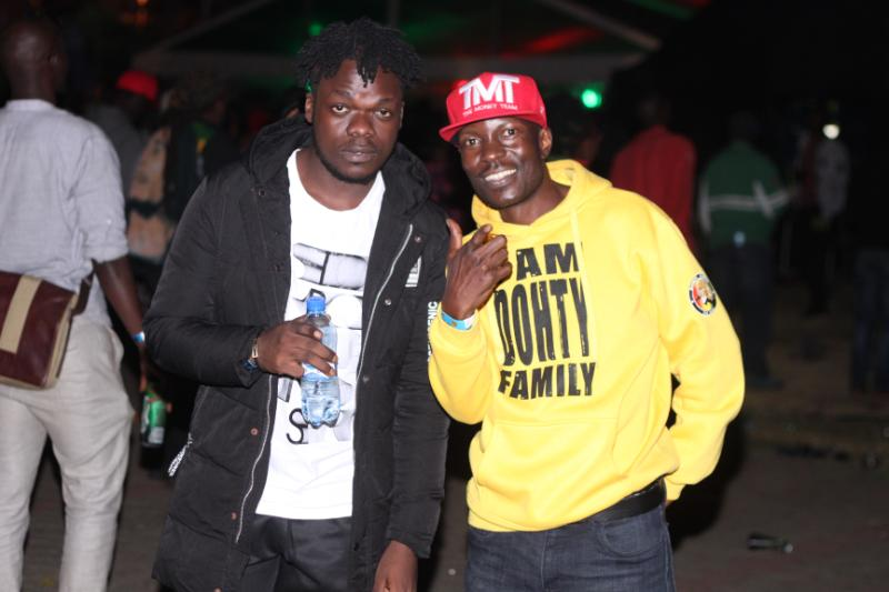 Dj Whiz with Jah Watchman - Nobody can stop Reggae! How it went down at Richie Spice concert