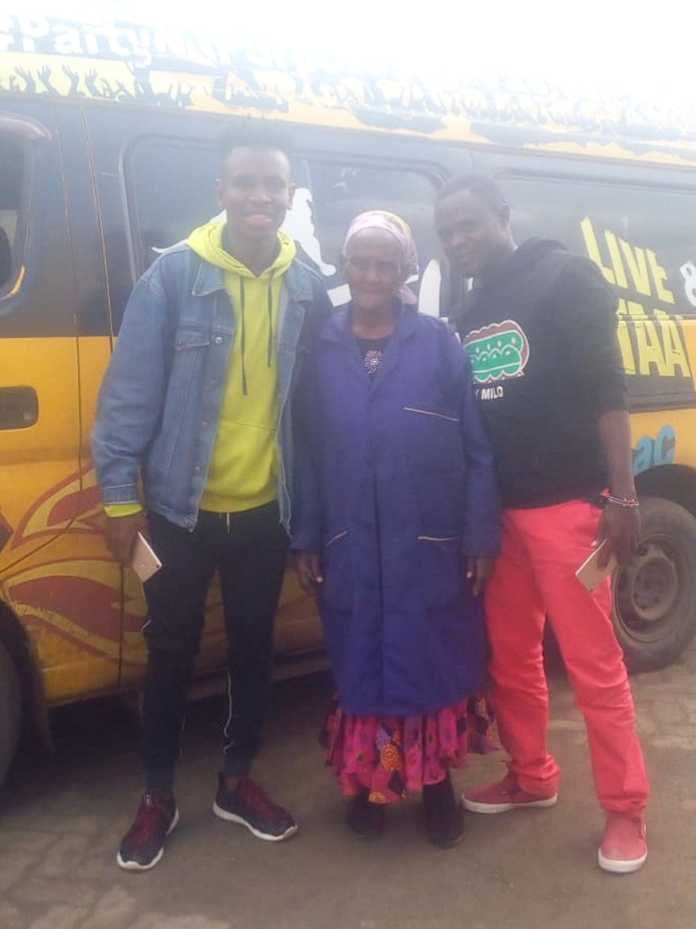 Djb61wpX0AIOCUi 696x929 - Shosh manyanga! Meet 80-year-old woman who builds sound systems for matatus