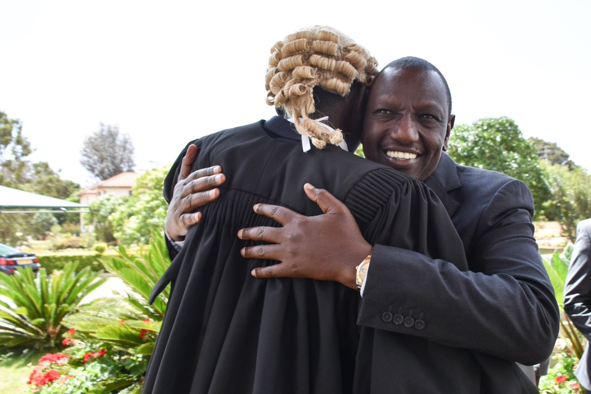 DzTGzJVX0AMKjjI - 'May you stand true to your calling as a defender,' DP Ruto's deep message to son