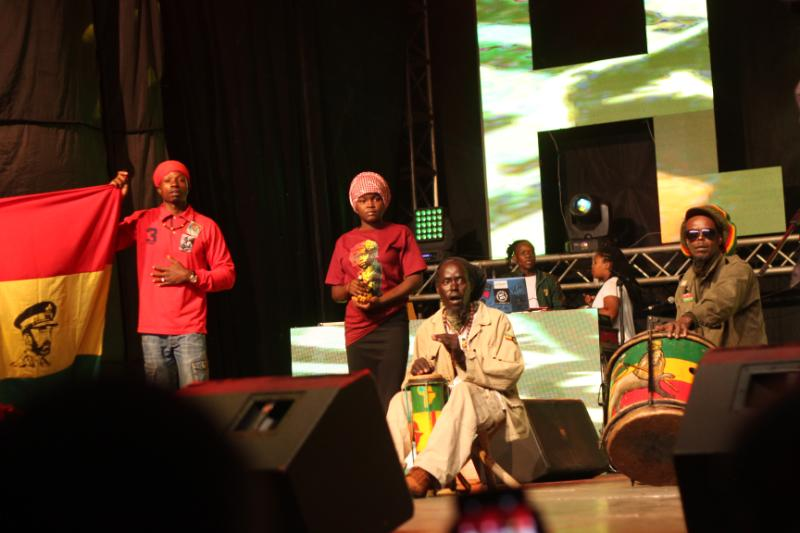 Haile Selassie foundation - Nobody can stop Reggae! How it went down at Richie Spice concert