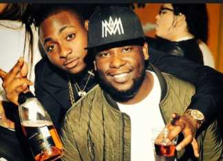 The DJ with Davido