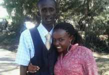 Njugush and wife