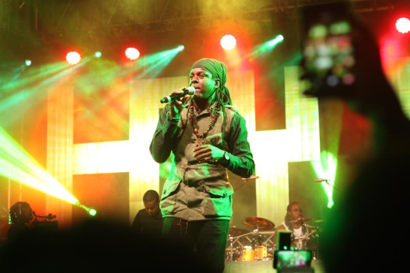 Richie Spice is a Jamaican reggae artist - Nobody can stop Reggae! How it went down at Richie Spice concert