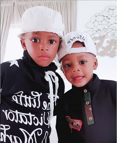 Diamond Platnumz and Zari's kids