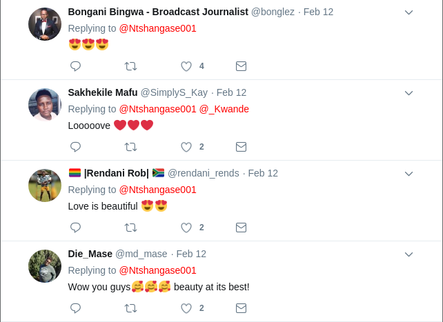 Screenshot from 2019 02 14 070800 - 'I am adored,' Gay South African couple shares romantic photos