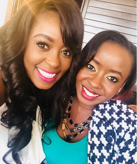 Screenshot from 2019 02 18 14 51 02 - Geng geng! Lillian Muli hangs out with Jacque Maribe (Photos)
