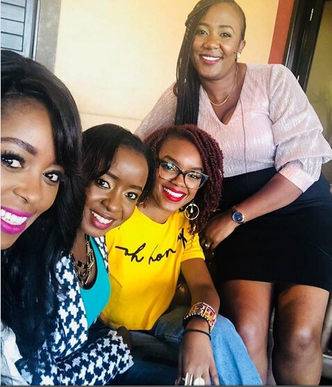 Screenshot from 2019 02 18 21 33 34 - Geng geng! Lillian Muli hangs out with Jacque Maribe (Photos)