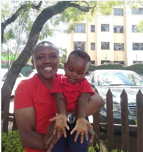 Screenshot from 2019 02 22 06 44 12 - Twinning! Maina Kageni shows off son, Kenyans can't keep calm
